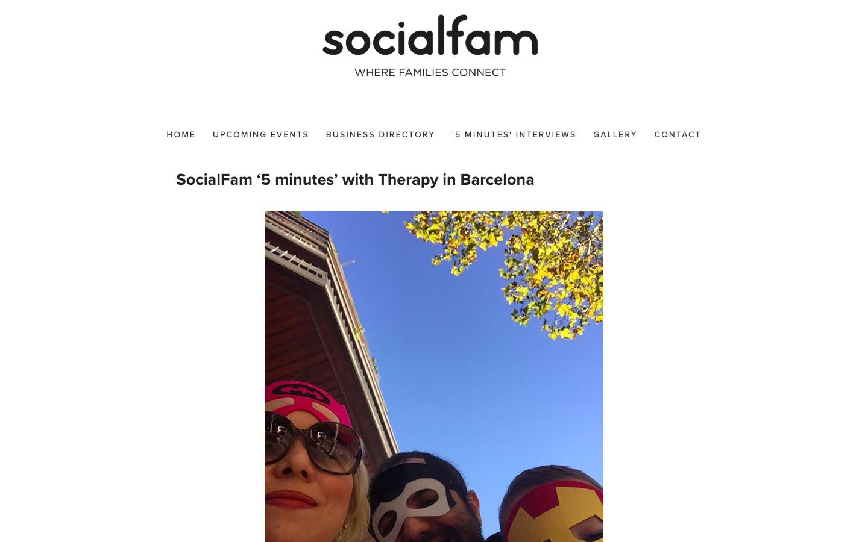 socialfam 5 Minutes interview