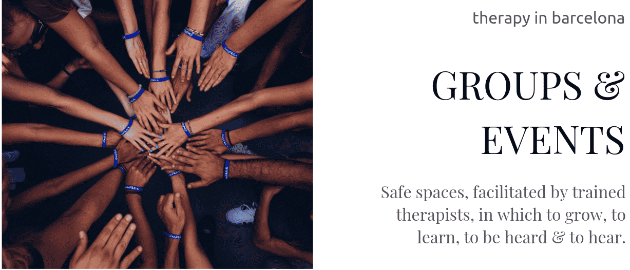 Groups and events at Therapy in Barcelona