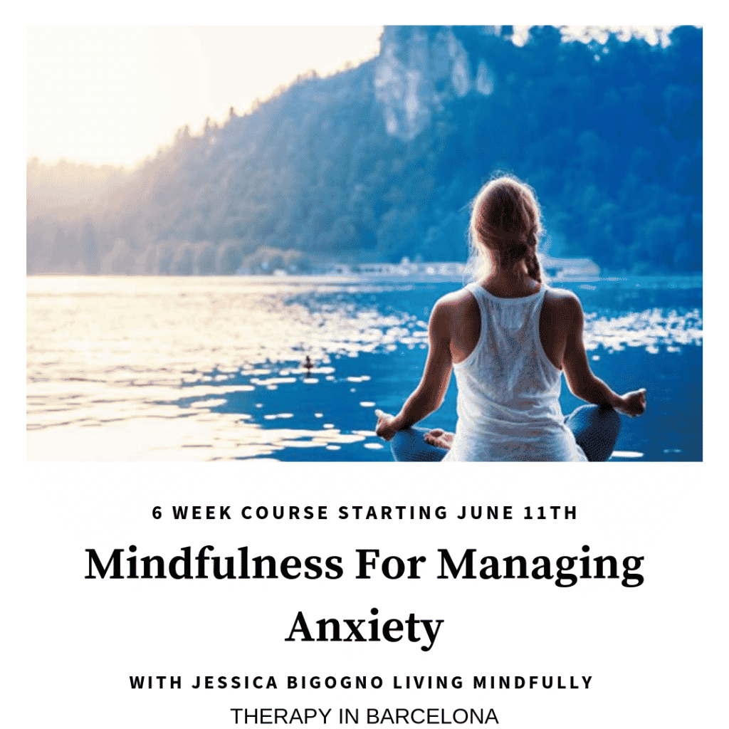 MINDFULNESS FOR MANAGING ANXIETY